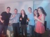 Travis, Nick, Pat, Luke, Yvonne & Michelle.