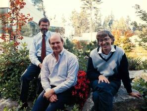 Jon Shirley, Steve Ballmer, Bill Gates