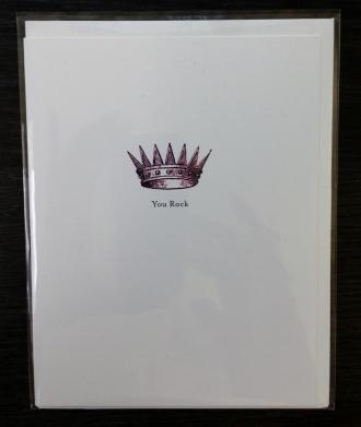 You Rock card