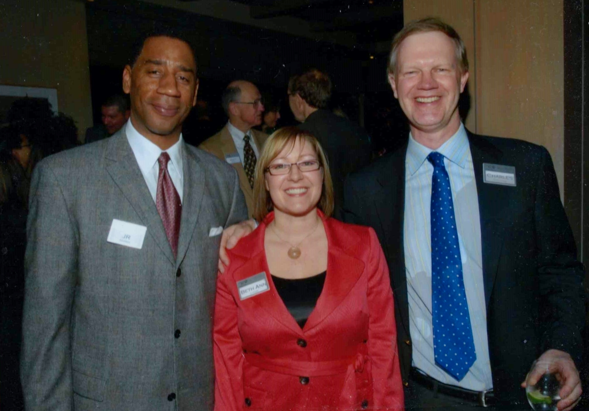 At an Alexis de Tocqueville event for United Way of King County.