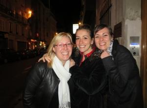 Les trois femmes...