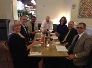 Team Dinner, London 2013